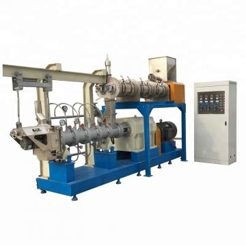 Large Capacity Dog Cat Fish Pet Food Extruder Machine Production Line