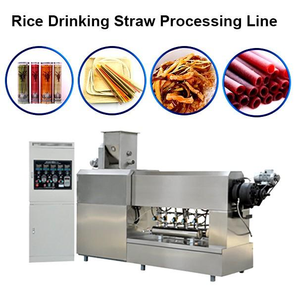 304 Stainless Steel Edible Rice Drinking Straws / Pasta / Rice Straws High Quality Disposable Straw Machine #1 image