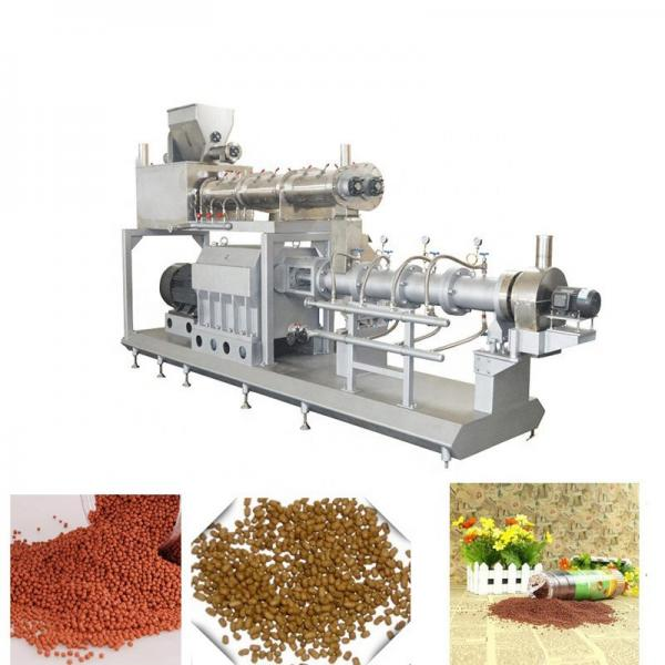 Floating Fish Feed Pet Dog Food Pellet Making Machinery #1 image