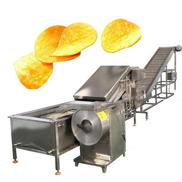 Commercial Electric Automated Potato/Plantain Chips Making Fryer Machine #3 image